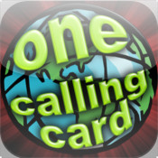 One Calling Card - long distance international VoIP phone card report card