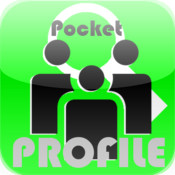"Serch Friends for LINE fans ""Pocket Profile"""