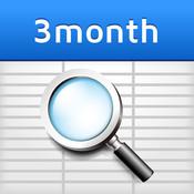 3 Months Calendar (sync with Google Calendar™)