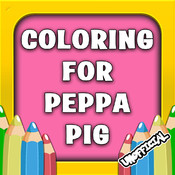 Coloring Book for Peppa