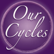 Our Cycles - Period and Full Moon Diary diary minder period