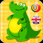 Portuguese - English Animals And Tools for Babies Free,Kids learn the world of cute animals by Touching Images and Listen to the Sounds of Animal or Tool
