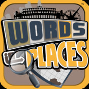 Words In Places - Travel Word Game