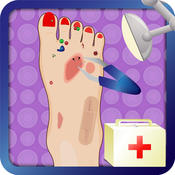 Princess Foot Surgery - Crazy surgeon and free foot doctor care game hand tendon injuries