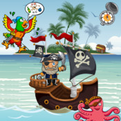 Pirates Puzzles for Toddlers and Kids : Discover the Pirate Bay !