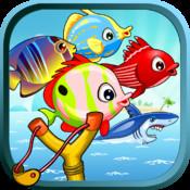 Sling Shot Fishing - Real Crazy Fishing Game