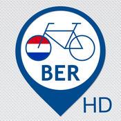 Berlijn fietstocht multimedia gids: Berlin Sightseeing Guide met GPS route assistentie audioguide en video met offline Tour Kaart - HD emule server met