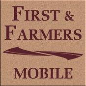 The First & Farmers Bank iPad Version check