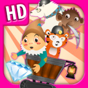 A Despicable Gnome & Friends Diamond Rush - Free Rail Miner Race Game rail rush