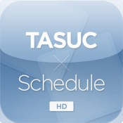 TASUC Schedule for iPad schedule
