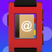 Contacts | Address Book for Pebble SmartWatch - Sync and Lock your contacts in safe contacts