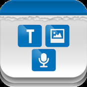 Tri Note - Text, Photo, Voice in one note finance note photo