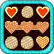 Amazing Cookies Dots : Match the hot cookies & create big chain free puzzles