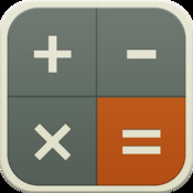 Flat Calculator for iPhone and iPad teenage room theme