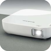 Brookstone® Wireless Mobile Projector App.