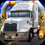 3D Trucker Parking Simulator Game - Real Fun Truck Driving Test Run Car Park Sim Addictive Racing Games Free