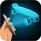 Hologram Fingerboard Simulator fingerboard