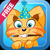 Paint & Dress up your pets - drawing, coloring and dress up game for kids FREE