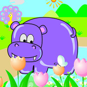Cartoon Animal Puzzle HD