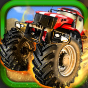 A Street Tractor Speed Race: City Run Racing Game