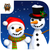 Sweet Baby Girl Christmas Fun and Snowman Gifts - No Ads