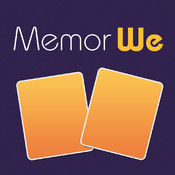 MemorWe - Turn-based classic card matching game appoday free app deal day