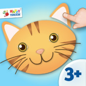 Animated Animal Puzzle - Kids Apps for toddlers and preschoolers aged 3 and above - by Happy Touch Kids Games®