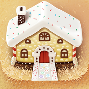 Interactive fairy tale book for kids Hansel and Gretel
