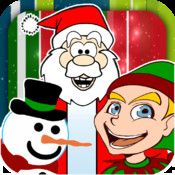 Interactive Christmas Friends - Free Repeating Santa, Frosty, and Elf