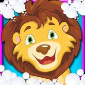 Wild Zoo Wash salon – Free game for zoo animal lovers, girls & kids
