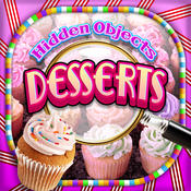 Hidden Objects - Desserts & Candy Cupcakes Object Time Puzzle Free Photo Game
