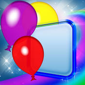 Colors Magnet Magical Balloons Game