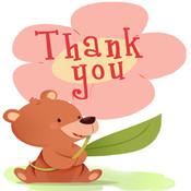 Thank You Cards Maker.Customise and Send Thank You e-Cards