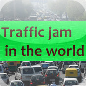 Traffic jam in the world