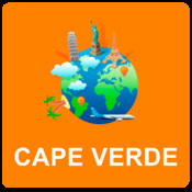 Cape Verde Off Vector Map - Vector World
