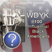WDYK – 100 Influential Black Americans 100 influential black