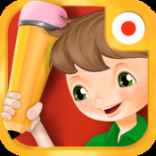Bud`s First Japanese Words - Vocabulary Builder, Learning and Reading Game for Preschool Toddlers