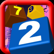 Digit Blocks: viva la match three puzzle classic game multiplayer - share on Fasebook and Twitter - Deluxe version
