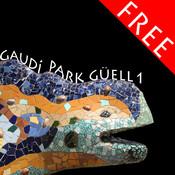 Park Güell 1, puzzle of Gaudí`s famous park in Barcelona FREE