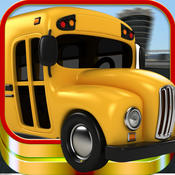 3D Crazy School Bus Highway Challenge Pro Educational Game - Dodge The Cars Get Kids To School Fast chase law school