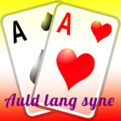 Classic Auld Lang Syne Card Game