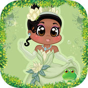 Princess Match Game and the adventure of Princess Cinder to discovery new land princess