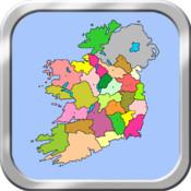 Ireland Puzzle Map