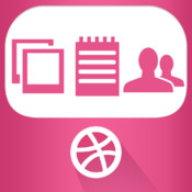 iExplorer for Dribbble view many different