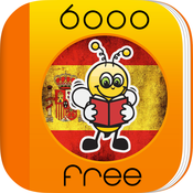 Learn Spanish 6,000 Words for Free with Fun Easy Learn