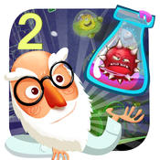 Crazy Doctor VS Weird Virus Free - A cool matching link puzzle game