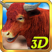 3D Bull Simulator – Angry animal simulator and city destruction simulation game rslogix simulator
