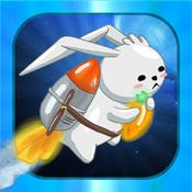 Floppy Jetpack Rabbit - Joyride to the Moon