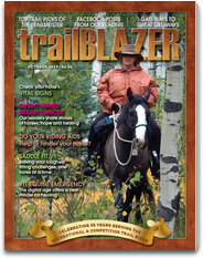 TRAIL BLAZER MAGAZINE - Serving the Equestrian Trail Rider the rainbow trail