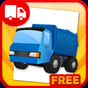 Trucks Flashcards Free - Things That Go words and sounds for kids